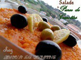 Salad carrot puree