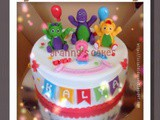 Barney Cake for Kalya