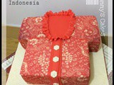 Batik Blouse cake for ibu Mala