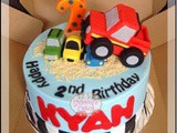 Bigfoot Car Cake for Kyan