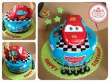 Cars Cake for Dashiell
