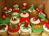 Christmas Cupcakes for Nissa