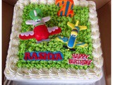 Disney Planes Red Velvet Cake for Rashya