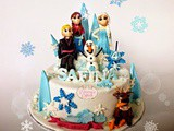 Frozen cake for Safina