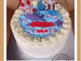 Mermaid & Sheriff Callie , Red Velvet Cake for Vala