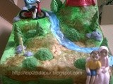 Mountain Bike Birthday Cake for Elga