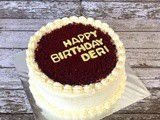 Red Velvet Cake for Deri