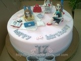 Sweet Seventeen Birthday Cake for Riris