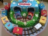 Thomas Birthday Cake for Alvent