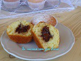 Muffin con yogurt e nutella
