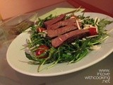 Beef Steaks and Rocket Salad