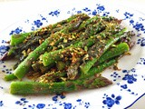 Asparagus with Brown Butter and Sage