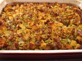 Cornbread Dressing with Sausage