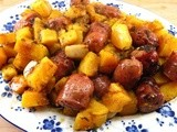 Herb-Roasted Sausages and Butternut Squash