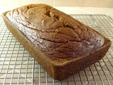 Maple (or honey) Sweetened Pumpkin Bread