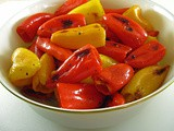 Oven-Roasted Mini Sweet Peppers