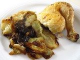 Roast Chicken with Cabbage