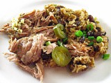 Slow Cooker Cuban-Style Pork Roast with Mojo Sauce