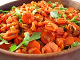 Spicy Carrot Salad with Pilpelchuma