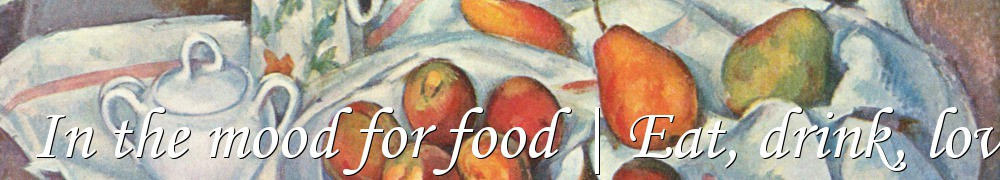 Very Good Recipes - In the mood for food | Eat, drink, love