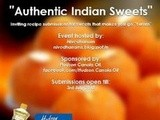 Event Announcement - Authentic Indian Sweets