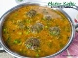 Matar Kofta Curry / Peas Dumpling Curry - Guest post by Preeti