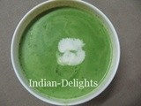 Spinach (Palak) Soup
