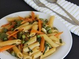 Chinese Vegetable Fried Pasta