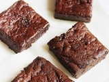 Flourless Cocoa Brownies (butterless and refined sugar free)