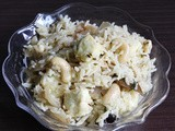 Paneer pulao recipe with coconut milk - Easy Lunch box recipe