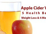 Apple Cider Vinegar 5 Health Benefits | Weight loss & More