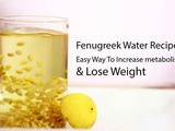 Fenugreek Water For Weight Loss Suggested by my Dietitian