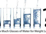 How much water you should drink to lose weight 2 kgs in a month