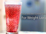 Sabja Seeds Drink Recipe for Weight Loss in Summer