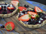 Blueberry Tartlets (Vegan, Paleo)