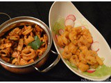Calamari – 2 ways! : Spicy Sauteed and Chick Pea batter fried
