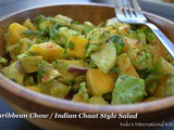 Caribbean Chow/Indian Chaat Style Salad