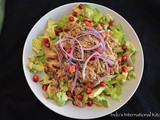 Chicken and Avocado Salad with Thai flavors