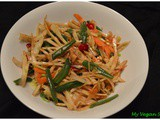 Green Papaya salad (Thai Style)