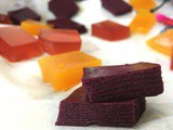 Healthy Fruit Gummies – Blueberry, Cranberry Coconut and Turmeric Ginger (Refined Sugar free, Paleo , aip)