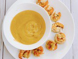 'Nacho Cheese' Dip with garlic shrimp (Paleo, aip)