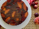 Peach and Plum Upside down Cake (Paleo, aip)