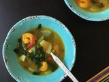 Shrimp and vegetable soup (Paleo, aip)