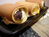 Ito's Dorayaki Roll-ups (for 'Crawling at Night')