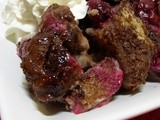 Melanie's Worst Nightmare (Black Forest Bread Pudding)