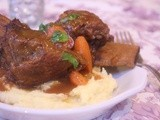 Braised Beef Short Ribs with Root Vegetable Mash