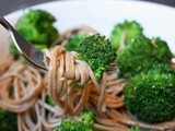 Broccoli with Soba Noodles