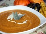 Butternut Squash and Apple Soup and  What Makes a Great Cook?