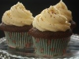 Heavenly Chocolate Cupcakes with Mascarpone Frosting