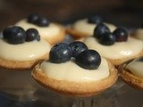 Lemon and Blueberry Tarts and a Little Ray of Sunshine